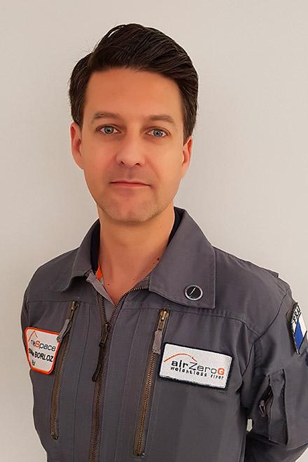 Stéphane Borloz-Paradis-Vanier - piloten