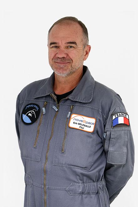 Eric Delesalle - pilotes