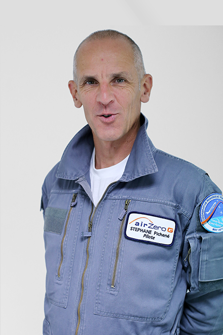 Stéphane Pichené - piloten